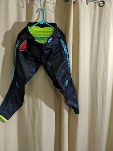Troy Lee Designs 2020 Mens GP Air Drift Pants Black/Turquoise 32