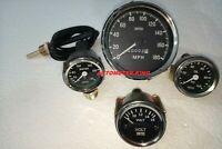 Smiths 52mm Kit Temp Oil Volt Gauge Speedometer Kmph Clockwise 100 mm Replica