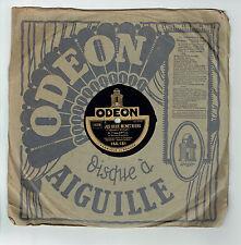 78T Louis LYNEL Disque LES DEUX MENETRIERS -LE BINIOU Breton Chanté ODEON 166181