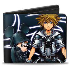 Kingdom Hearts II Organization 13 Mickey and Final Form Sora Bifold Wallet NEW