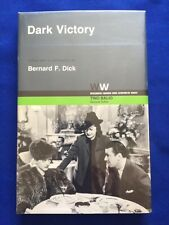 DARK VICTORY - 1ST.  PUBLISHED SCREENPLAY SIGNED BY ACTRESS GERALDINE FITZGERALD