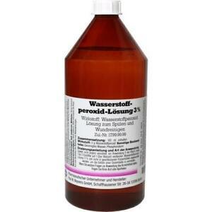 WASSERSTOFFPEROXID Lösung 3% 1000ml PZN 4652521