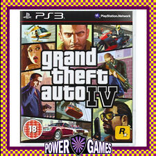Grand Theft Auto IV 4 PS3 (Sony PlayStation 3) Brand New