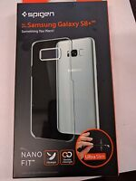 Spigen Nano Fit Samsung Galaxy S8 Plus Case Ultra Slim Protection Clear