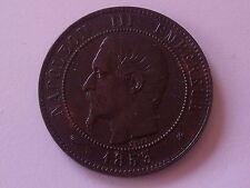 10 cts Napoleon III Tête nue 1853 BB