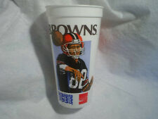 CLEVELAND BROWNS ICEE PLASTIC CUP,NFL Football,quarterback,coca cola,louisiana