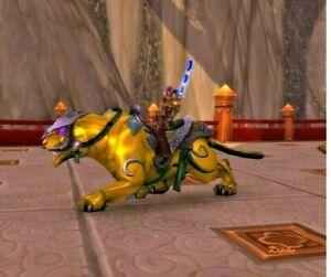 WoW Mount Sonnensteinpanther Reittier World of Warcraft
