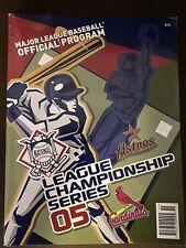 Cardinals/Astros 2005 League Championship Series Official Program