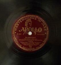 "COLEMAN HAWKINS Yesterdays Bu-Dee-Daht Dizzy Gillespie Max Roach 10"" Apollo 78"