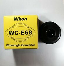 Nikon WC-E68 Wideangle Converter. NEW IN BOX.