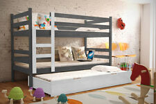 Bett BORIS Etagenbett Hochbett Kinder Öko Doppelstockbett Kinderbett Stockbett