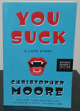 You Suck by Christopher Moore - Signed Advance Reader's Copy