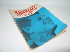 Kennedy Youngest President Edward R. Sammis Paperback Vintage 1962 FREE SHIPPING