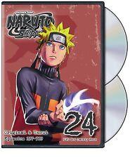 Naruto Shippuden Uncut DVD Set 24 Anime Episodes Shippuden English Dub Ninja TV