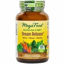 MegaFood, Dream Release Promotes Restful Sleep & Relaxation Sleep Aid 60 Tablets