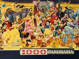 Ravensburger Disney 'Group Photo' Panorama Jigsaw Puzzle 1000 pieces of fun.