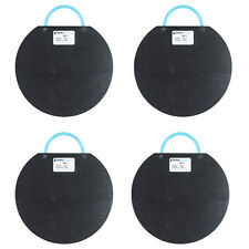 """4 Pack of 15"""" Outrigger Pads for Boom Lifts, 35,000 Lb Load Limit Per Pad"""