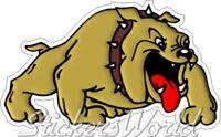Britischer Bulldogge, Englischer Wütender Hund BULLDOG ANGRY DOG 200mm Aufkleber
