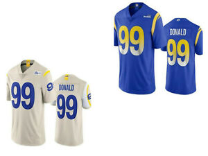 New 2020 #99 Aaron Donald Los Angeles Rams Stitched Jersey