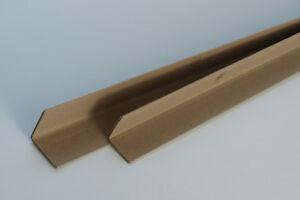 80 Kantenschutz Eckenschutz Vollpappe 3 mm stark 60 x 60 x 700 mm