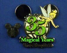 Tinker Bell Walt Disney World 35th Anniversary Pin-on-Pin Oc Pin # 51395