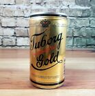 Vintage Tuborg Gold empty beer can 12 oz, aluminum pull tab