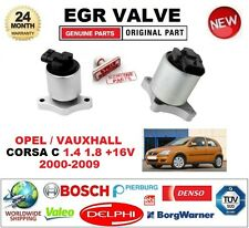 FOR OPEL VAUXHALL CORSA C 1.4 1.8 +16V 2000-2009 Electric EGR VALVE 5-PIN OVAL