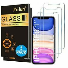 New Ailun Glass screen Protector 3pack iPhone Xr/11 GlassSp Free Shipping