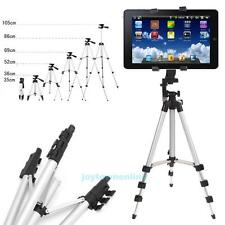 Professional Camera Tripod Stand Mount + Universal Holder for Tablet iPad 2 3 4
