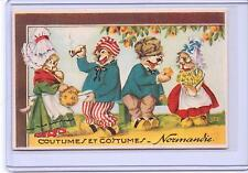 VINTAGE FRENCH DRESSED CATS IN COUNTRIES COSTUMES #10 POSTCARD