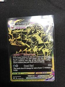 Pokemon-Eternatus VMax-Shining Fates-SV122/122- Black/Gold