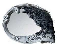 Nevermore Poe Raven Alchemy England Compact Hand Mirror Wiccan Pagan Decor V27