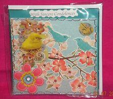 Handmade Card - With Sincere Condolences.