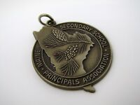 Vintage Collectible Medal: Maine Secondary Schools Principals 1988 Cross Country