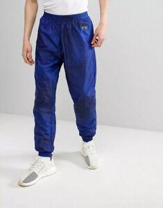 ADIDAS ORIGINALS EQT INDIGO TRACK PANTS TAPERED WOVEN BLUE CD6831 SMALL MSR $150