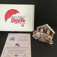 Brian Baker's De Ja Vu #1219 Country Christmas Original Box & Certificate 1996