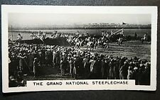 The Grand National   Aintree     Vintage 1927 Action Photocard  VGC