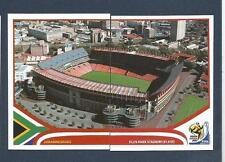 PANINI-SOUTH AFRICA 2010 WORLD CUP- #010-#011-JOHANNESBURG-ELLIS PARK STADIUM