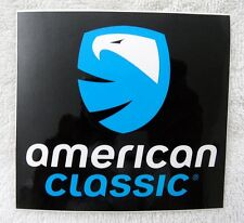 """American Classic Bicycle wheels sticker decal, 4"""" x 4"""", New"""