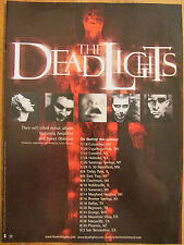 The Dead Lights, Tour and Album, Full Page Promotional Ad