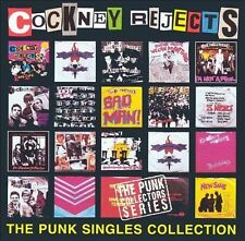 DISC ONLY - The Punk Singles Collection by Cockney Rejects (CD, 1997, Anagram)