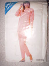 Vintage Butterick Pattern 1980s Top Shirt Pants 6 8 10 SEWING