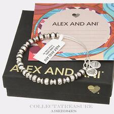 Authentic Alex and Ani Canyon Rafaelian Silver Bangle