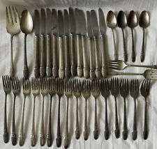 1847 Rogers Bros IS FIRST LOVE Silverware Flatware Silver Plate 36 Pieces