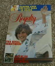 Royalty Monthly Magazine Issue No 3 September 1981. Princess Diana