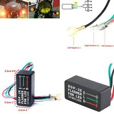 Waterproof 12V 3-Pin Flasher Blinker Relay For Motorcycle ATV Turn Signal LED