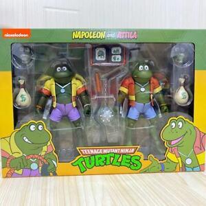 """NECA Teenage Mutant Ninja Turtles Napoleon & Attila Frog TMNT 7"""" Action Figure"""