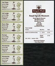 ROYAL SIGNALS MUSEUM UNDATED MACHINS BLANDFORD MACHIN COLL SET POST & GO
