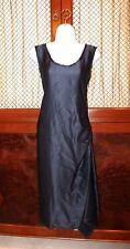 LANVIN dress size 36  EUR 100% silk  LBD
