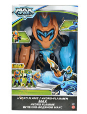 Max Steel. Hudro Flame. Figure. Toy. Mattel. 11 inch.